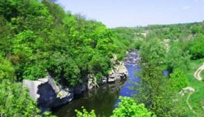 Маленький фьорд в сердце Украины - Буцкий каньон