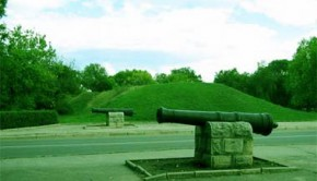 Крепость Св. Елизаветы - пушки