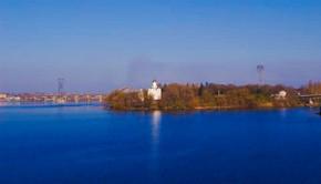 Железобетонные арочные конструкции днепропетровского Мерефо-Херсонского моста