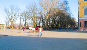 Площадь Армана де Ришелье на одесском Приморском бульваре
