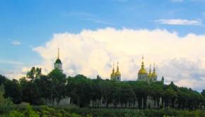 Полтавский Свято-Успенский кафедральный собор с колокольней