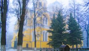 Восточный неф киевского Свято-Владимирского собора в Киеве
