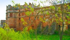 Восточный фасад Старосельского замка