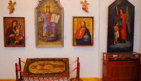 Экспонаты сакральной коллекции Збаражского замка