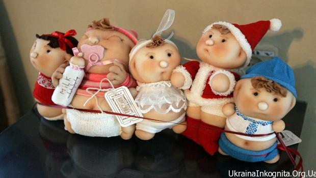 Выставка кукол во Львове