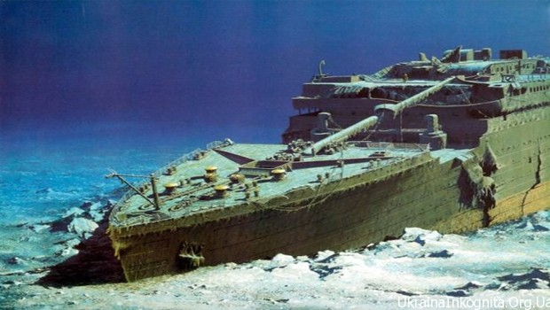 Выставка уцелевших вещей с «Титаника» в Киеве
