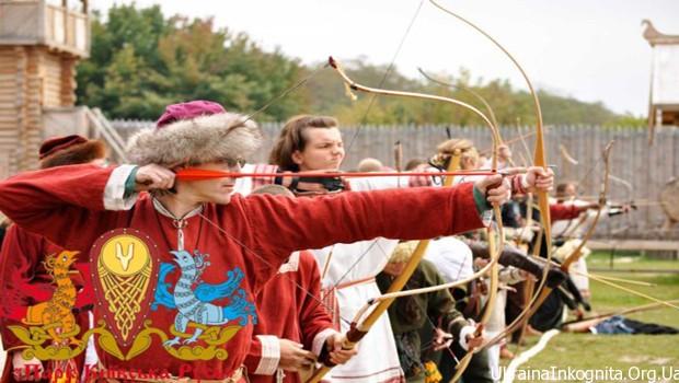 Турнир лучников в парке «Киевская Русь»